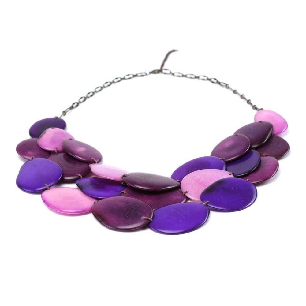 s product tagua handmade necklace teal esmeralda jewelry women