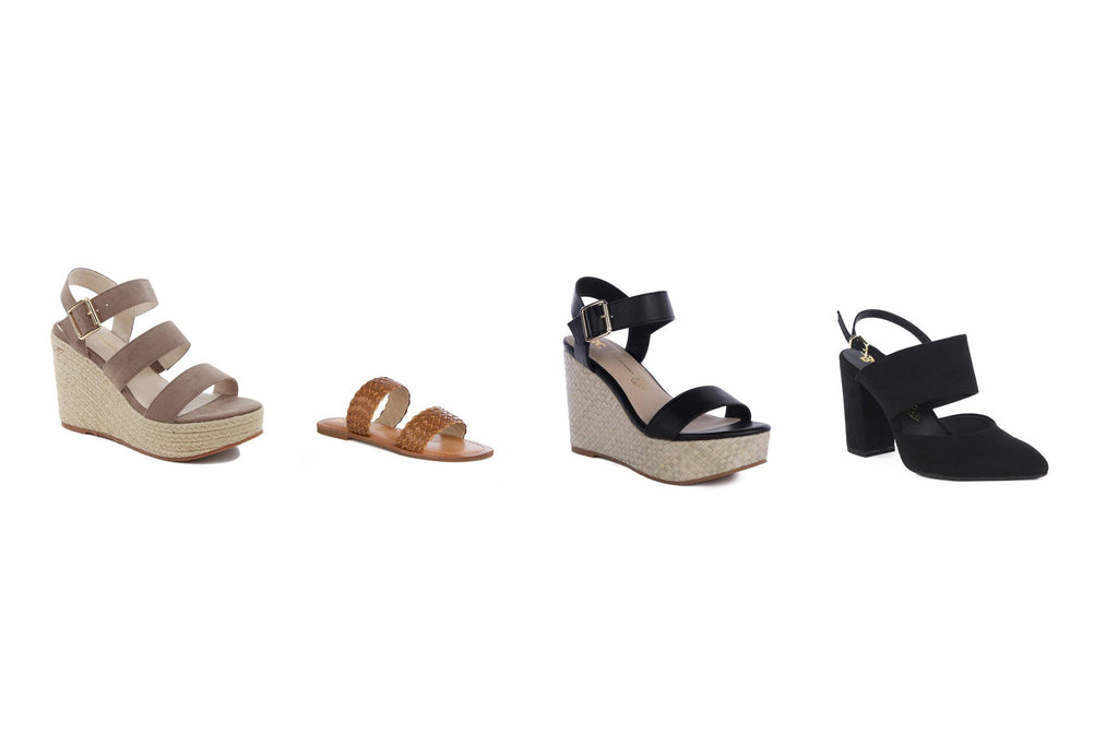 BC Footwear sandals and wedges