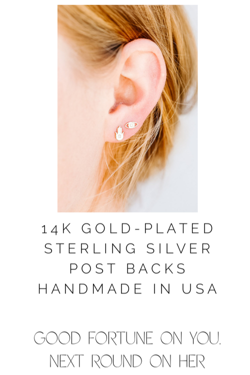 JaxKelly Complement Earrings