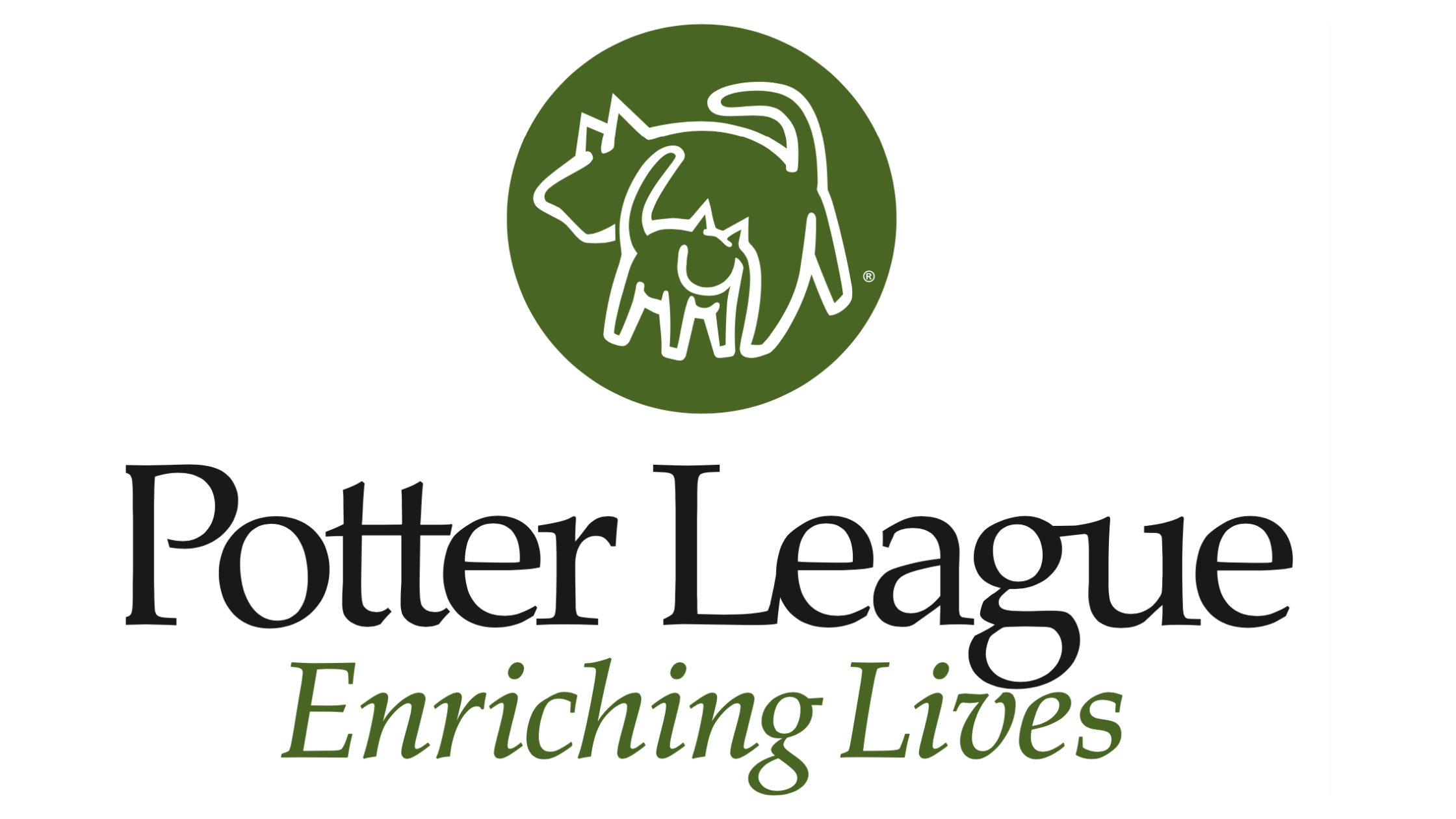 Potter League for Animals Logo