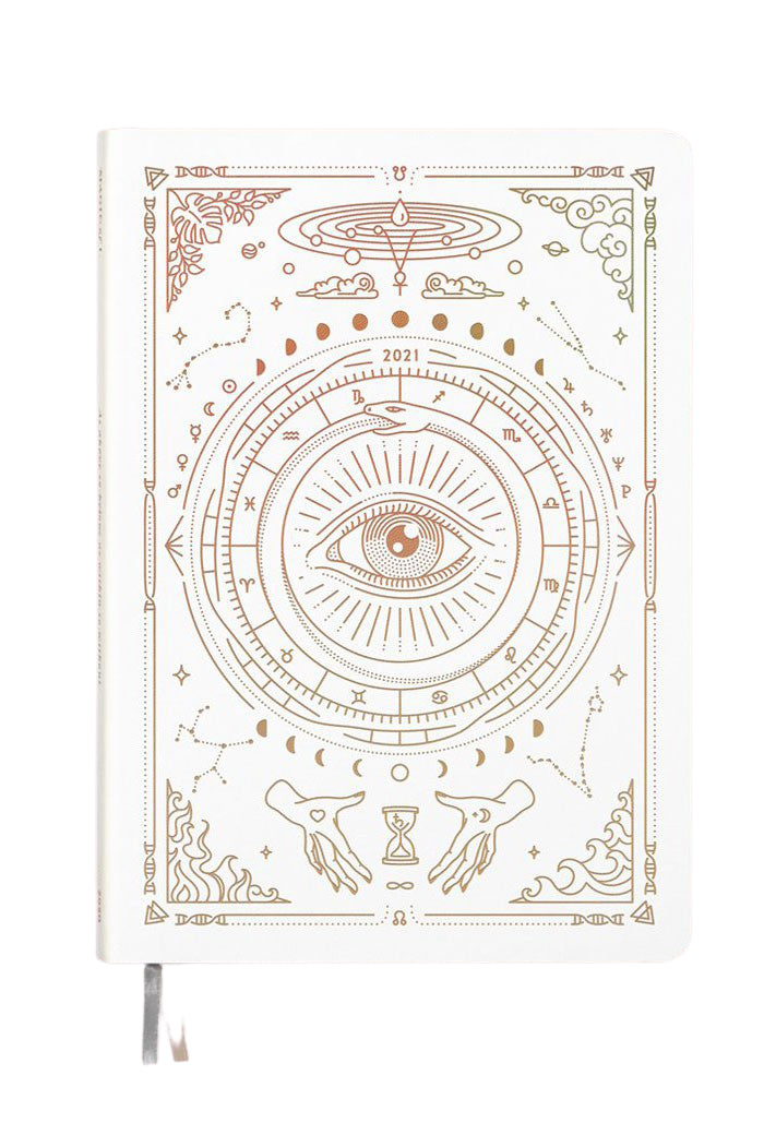 2021 Astrological Planner - White