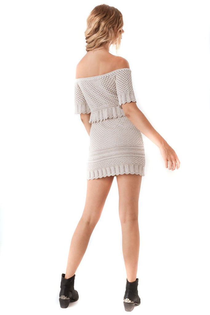 Spell & The Gypsy Collective Shell Atlantic Crochet Skirt - Back