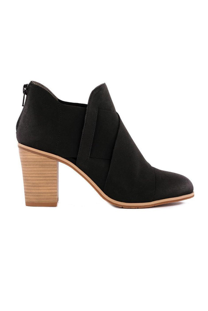 BC Footwear black azalea ankle boot