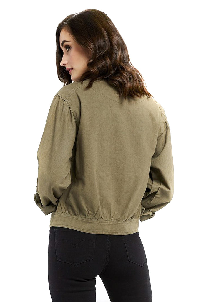 Sage Barton Jacket - Back
