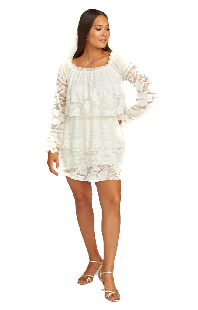 Moonlight Roses Lace Bess Dress