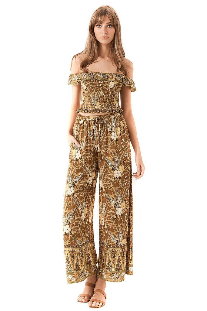 earth Bianca Wide Leg Pants