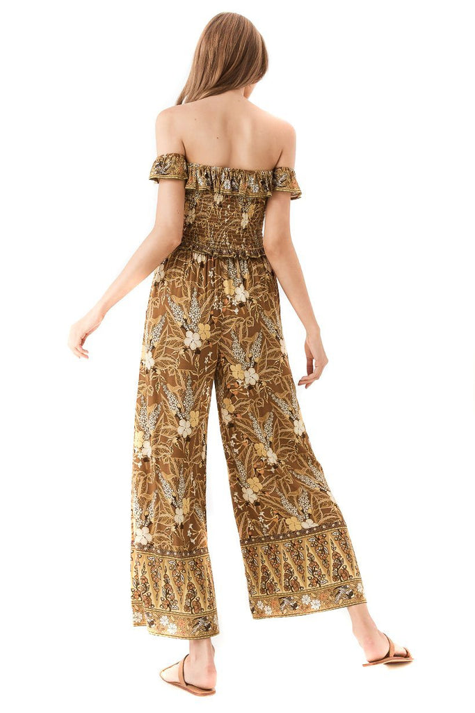 Spell Earth Bianca Wide Leg Pants - Back