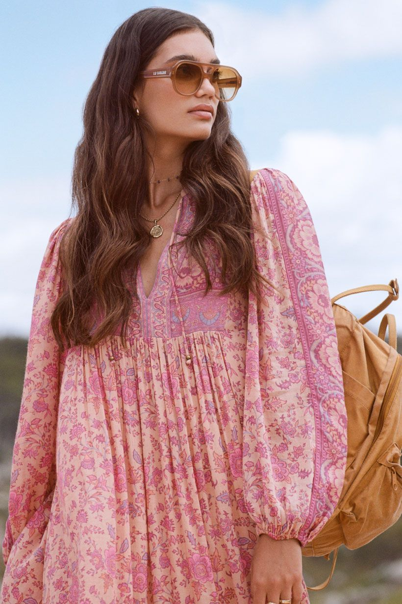 Blossom Folk Song Boho Dress