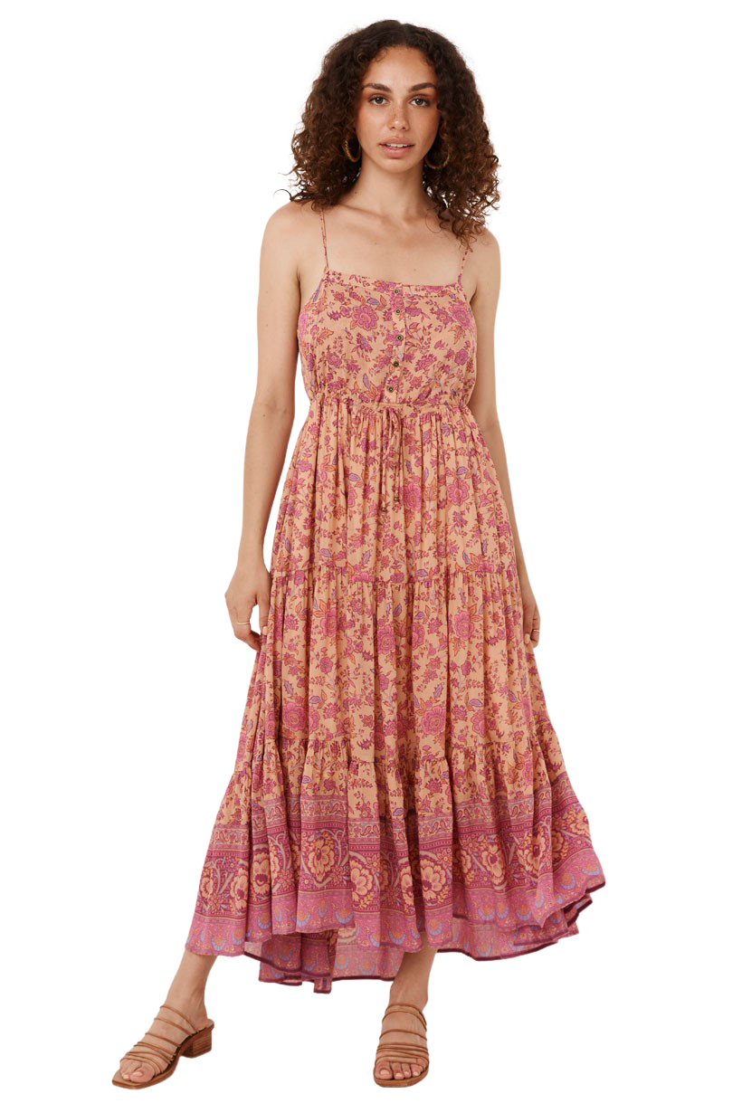 Blossom Folk Song Sundress