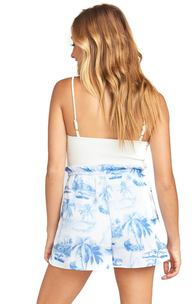 show me your mumu sail away boardwalk shorts back photo