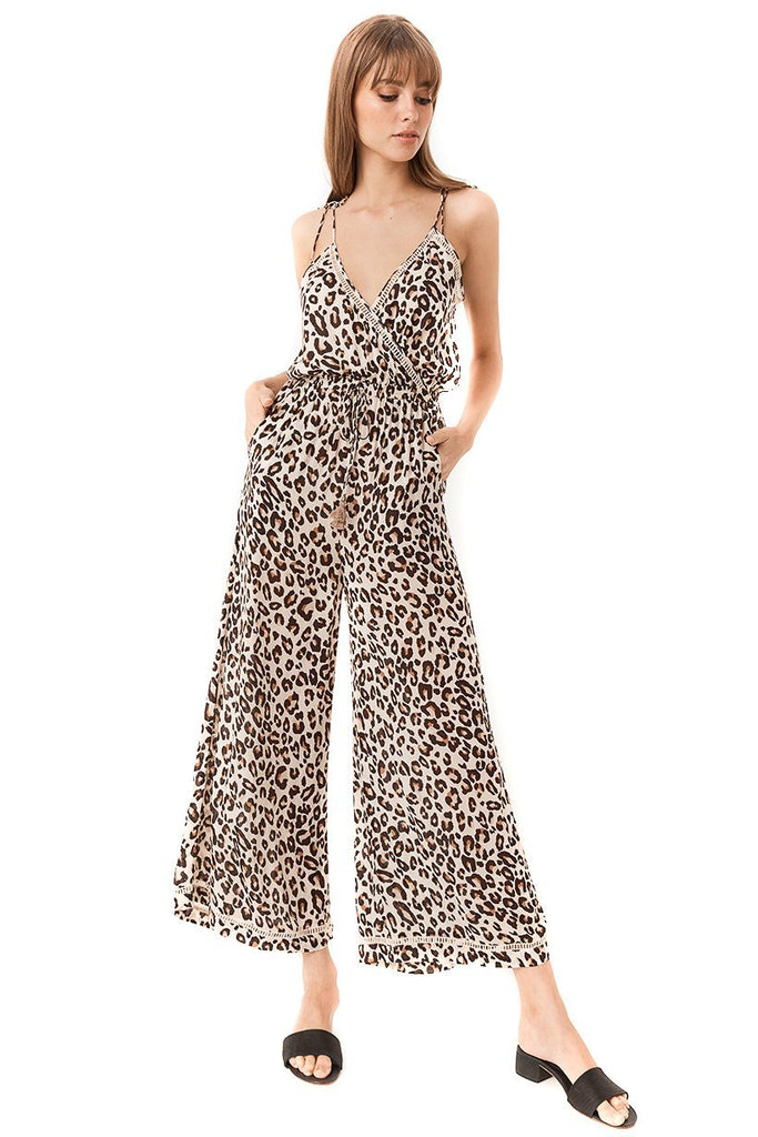 Spell & The Gypsy Collective Bodhi Leopard Jumpsuit