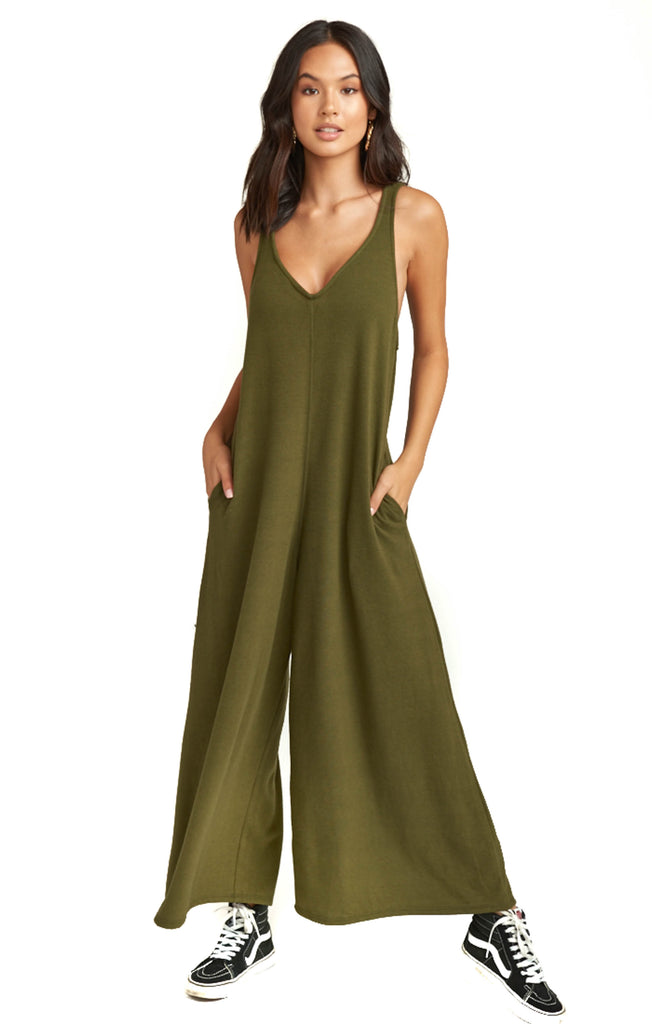 Olive Bowery Jumpsuit
