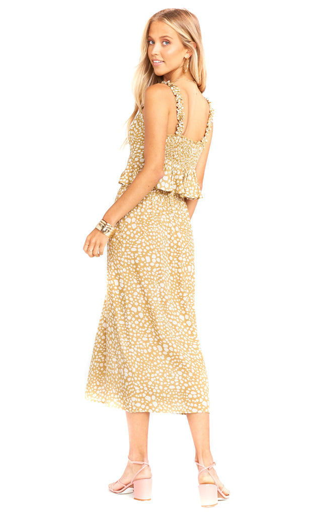 Desert Cheetah Bristow Skirt - Back