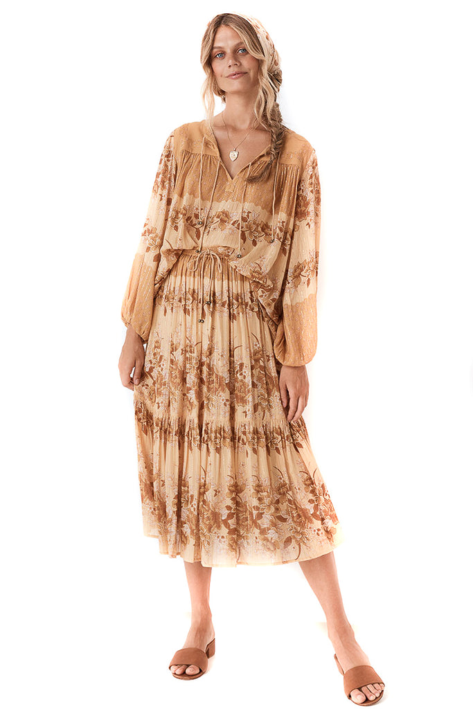 Spell & The Gypsy Collective Caramel Coco Lei Skirt