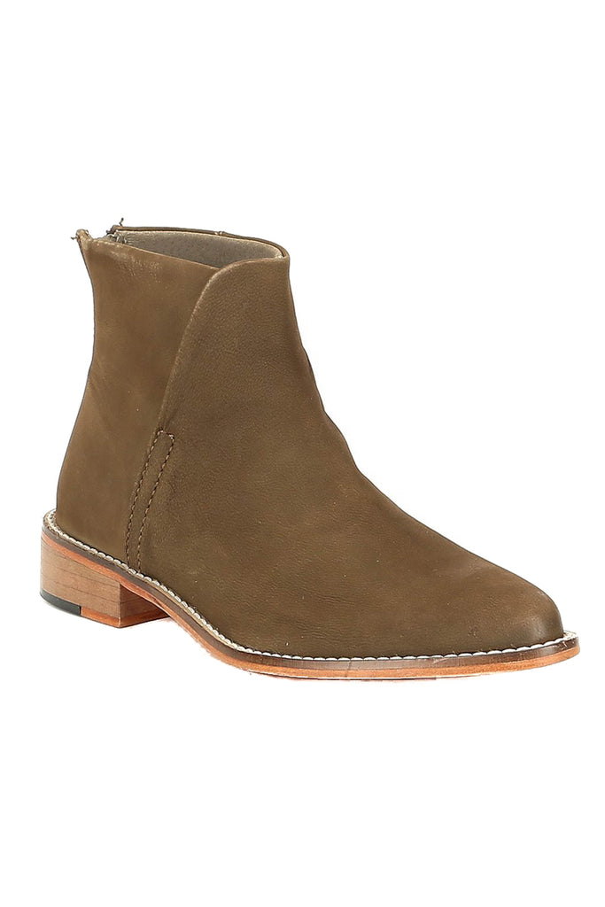 free people khaki century flat boot