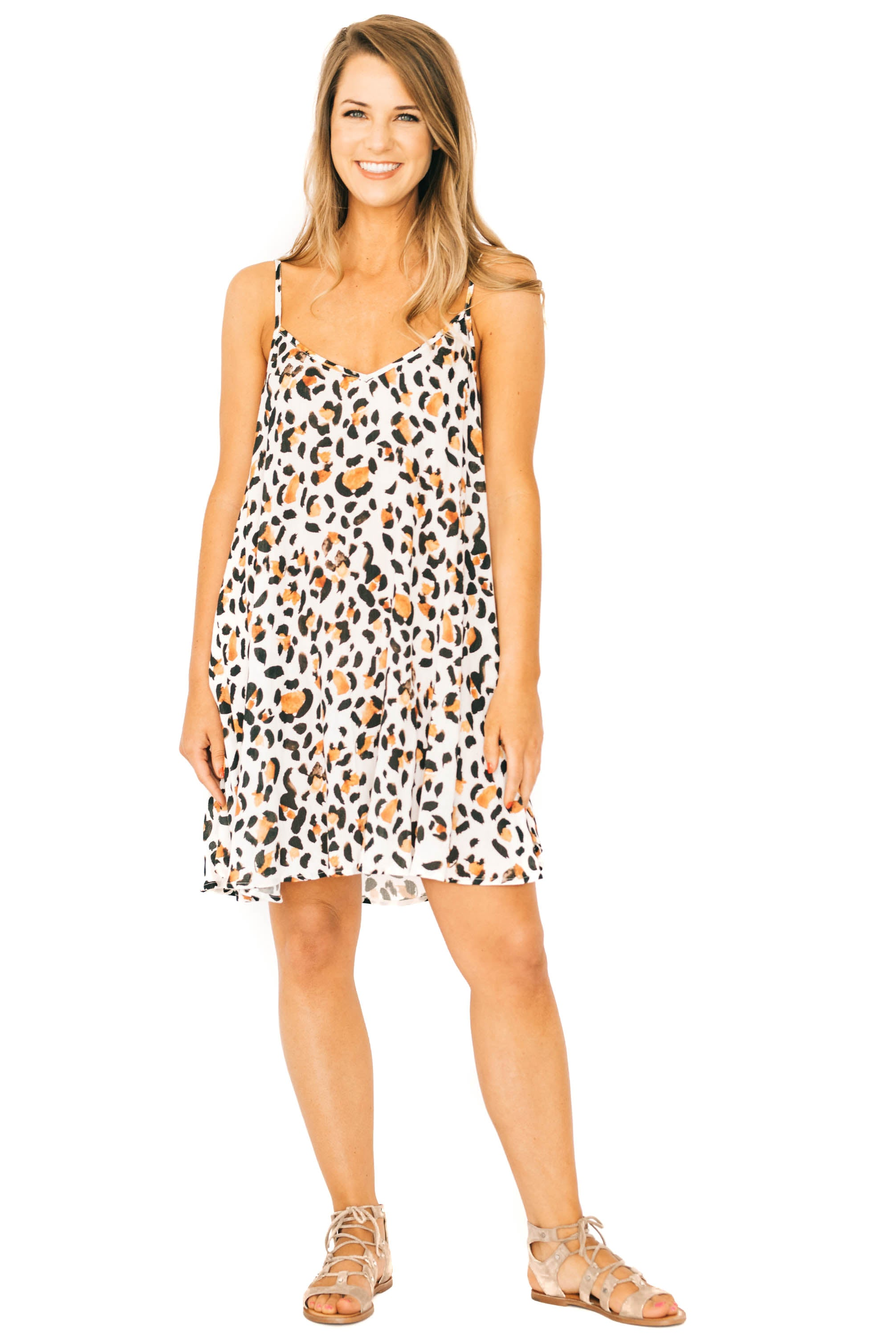 Cheetah-licious Circus Mini Dress