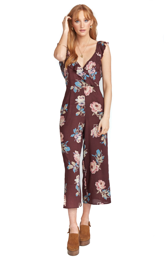 Chocolate And Roses Bianca Jumpsuit