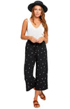 Black Diamond Ditsy Chrissy Pant