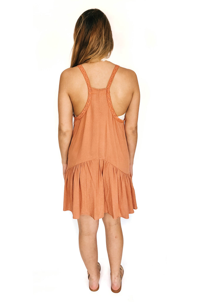 saltwater luxe clay eden mini dress racer back photo