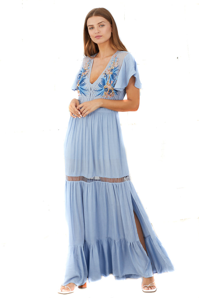 Chambray Daph Dress