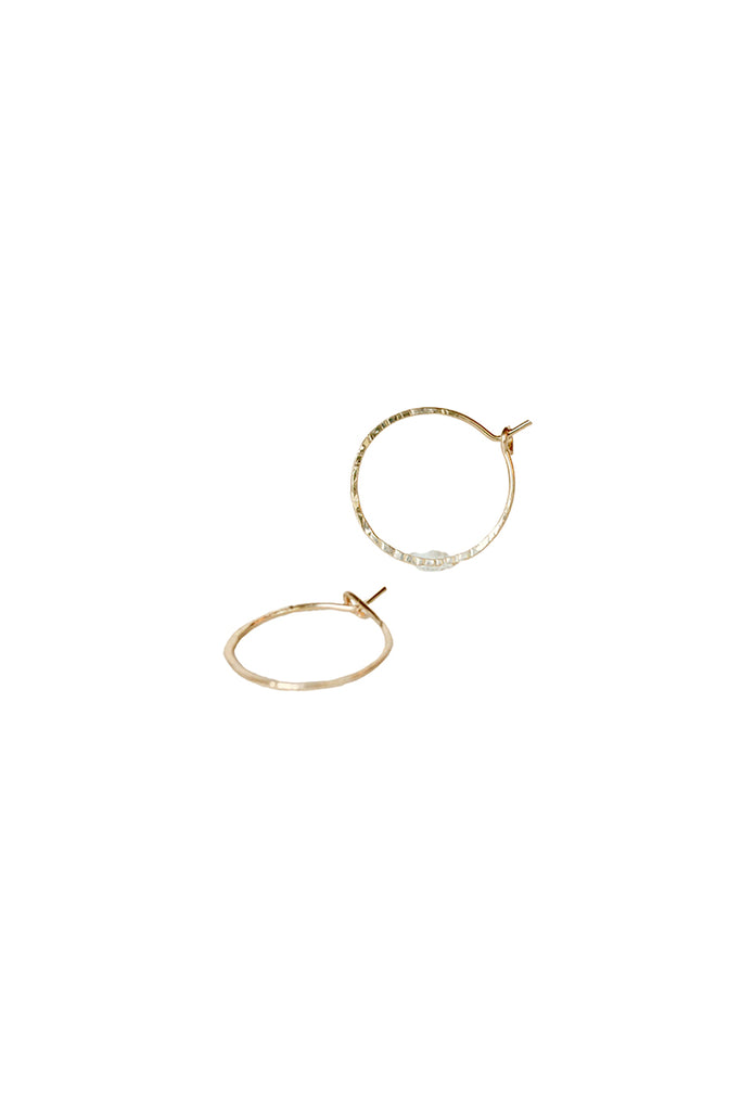 Cleopatra Hoop Earrings