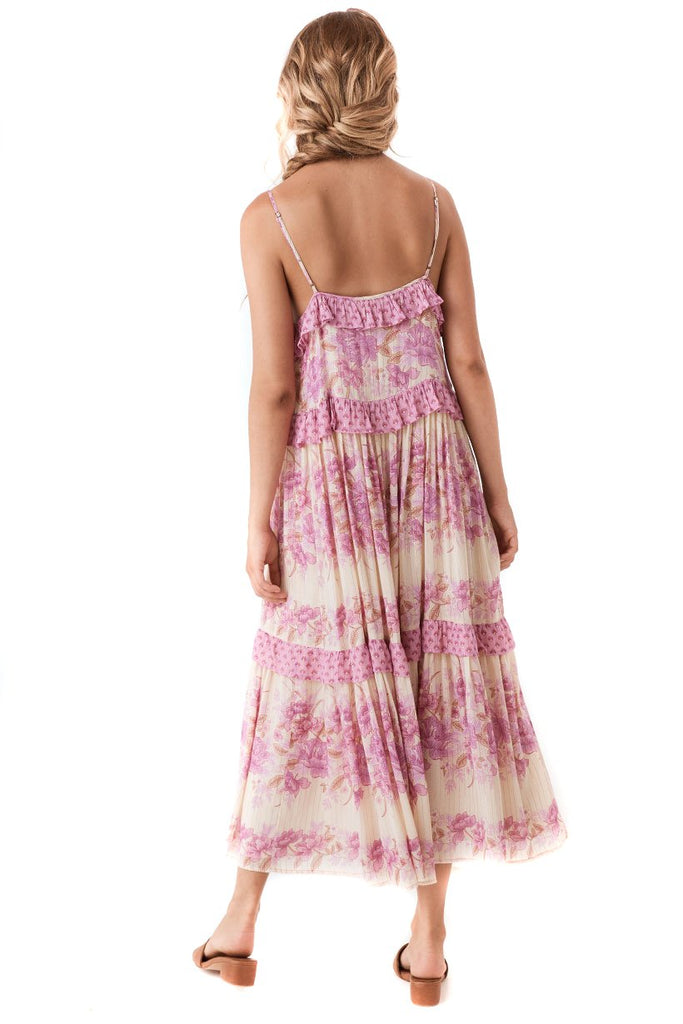 Spell & The Gypsy Collective Lilac Coco Lei Strappy Gown - Back