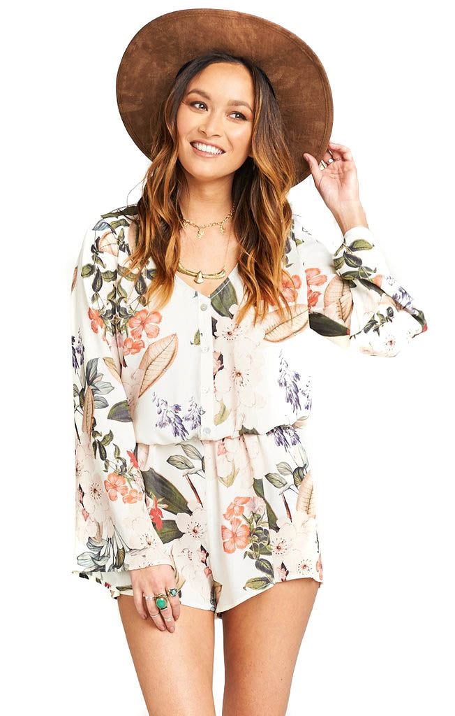 Enchanted Florist Red Rocks Romper
