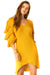 Gold Gauze Capricorn Tunic - Full Length