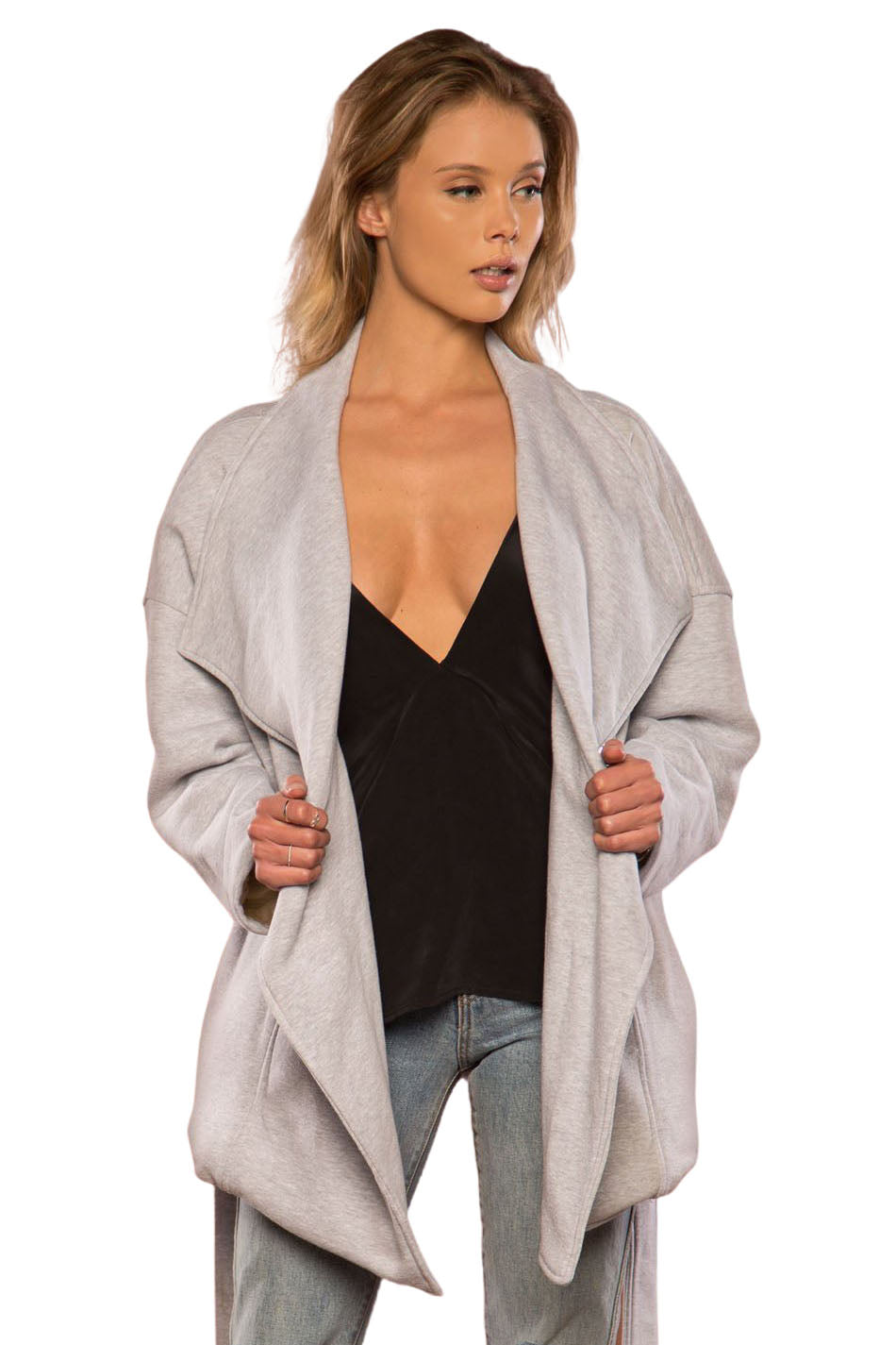 Grey River Jacket - Front Tied