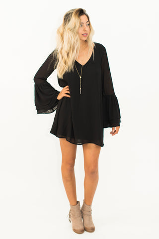 show me your mumu black nolita dress side photo