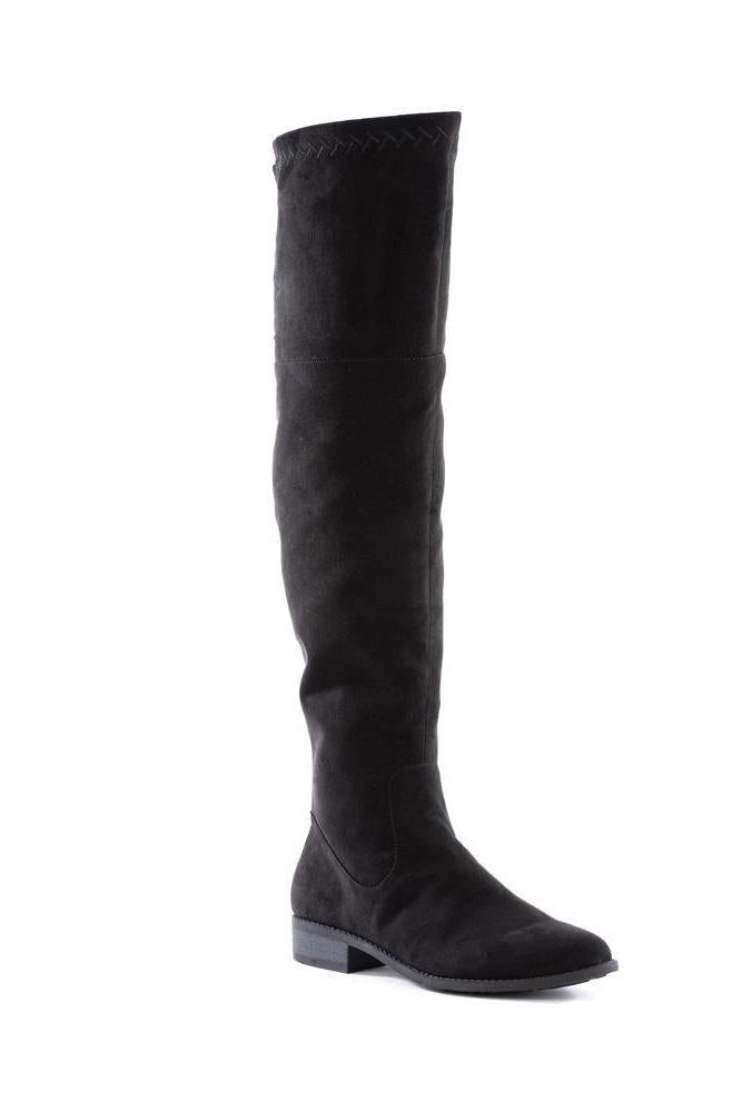 BC Footwear Vegan Black Height Knee Boot