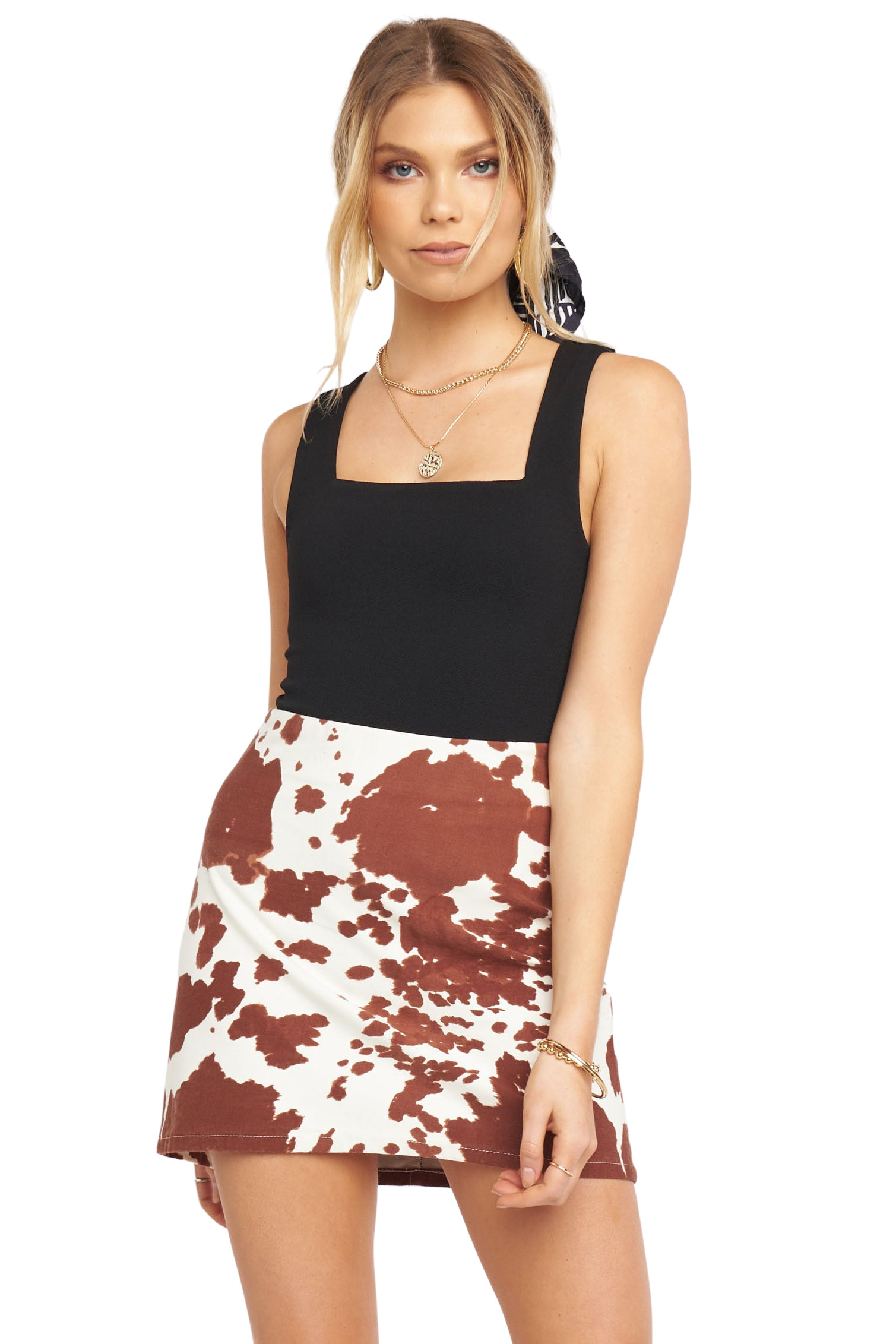 Holy Cow Roxanne Mini Skirt - Full