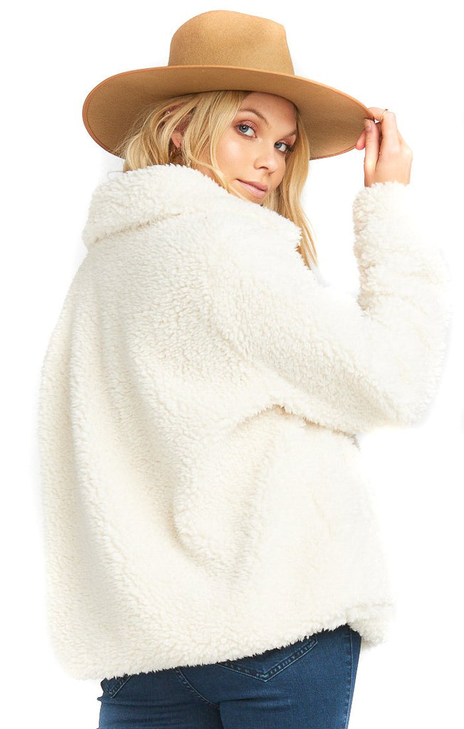 Toasty Marshmallow Kassidy Pullover - back