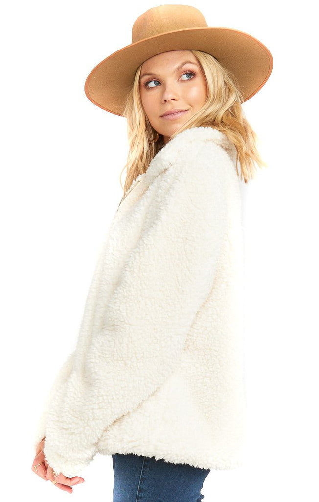 Toasty Marshmallow Kassidy Pullover - side