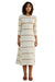 La Maison Stripe Linna Dress - front