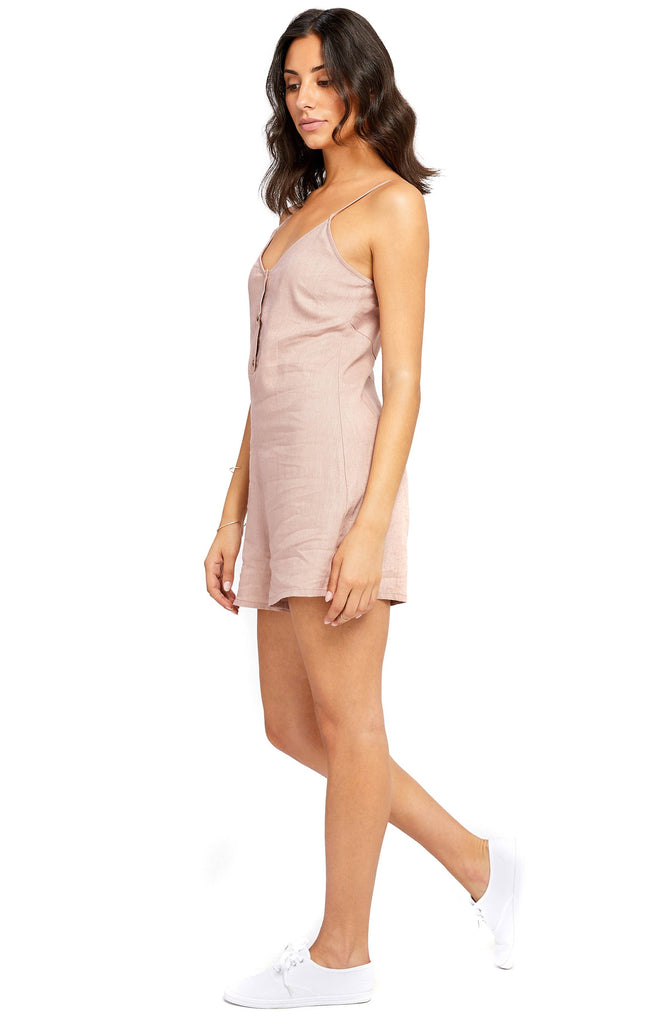 gentle fawn rosecloud lavern romper side photo