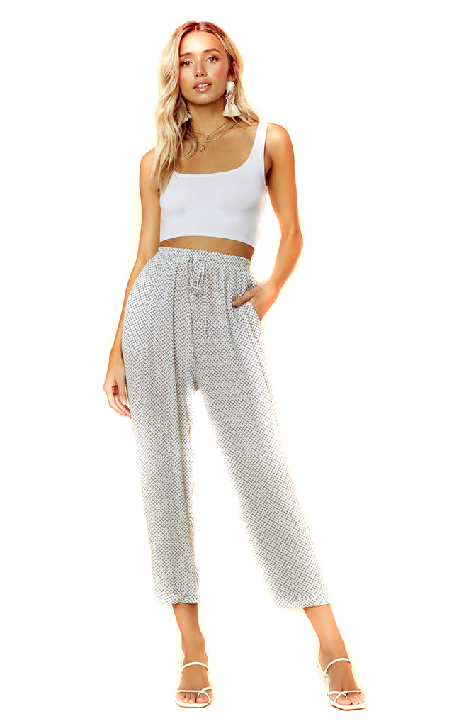 Morelli Star Ditsy Lena Pant - Front