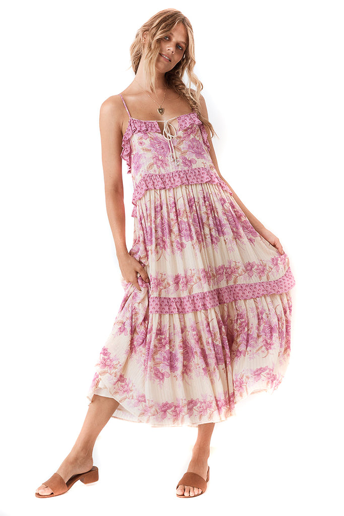 Spell & The Gypsy Collective Lilac Coco Lei Strappy Gown