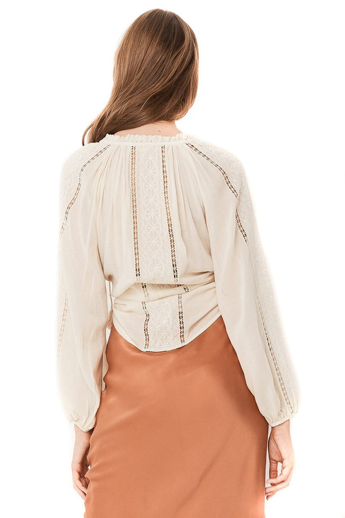 Spell & The Gypsy Collective Cream Loves Me Not Blouse - back