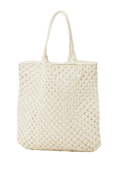 White Macamre Tote Bag
