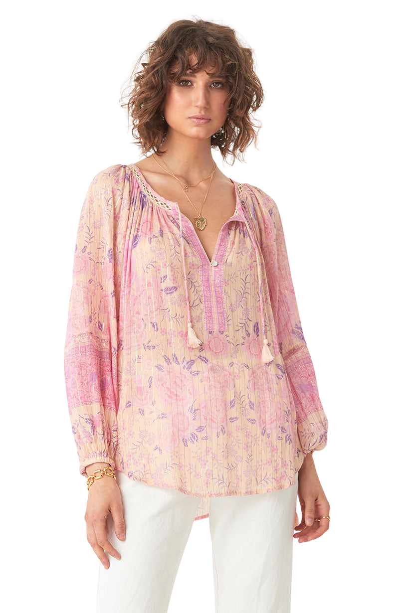 Musk Mystic Blouse - Front