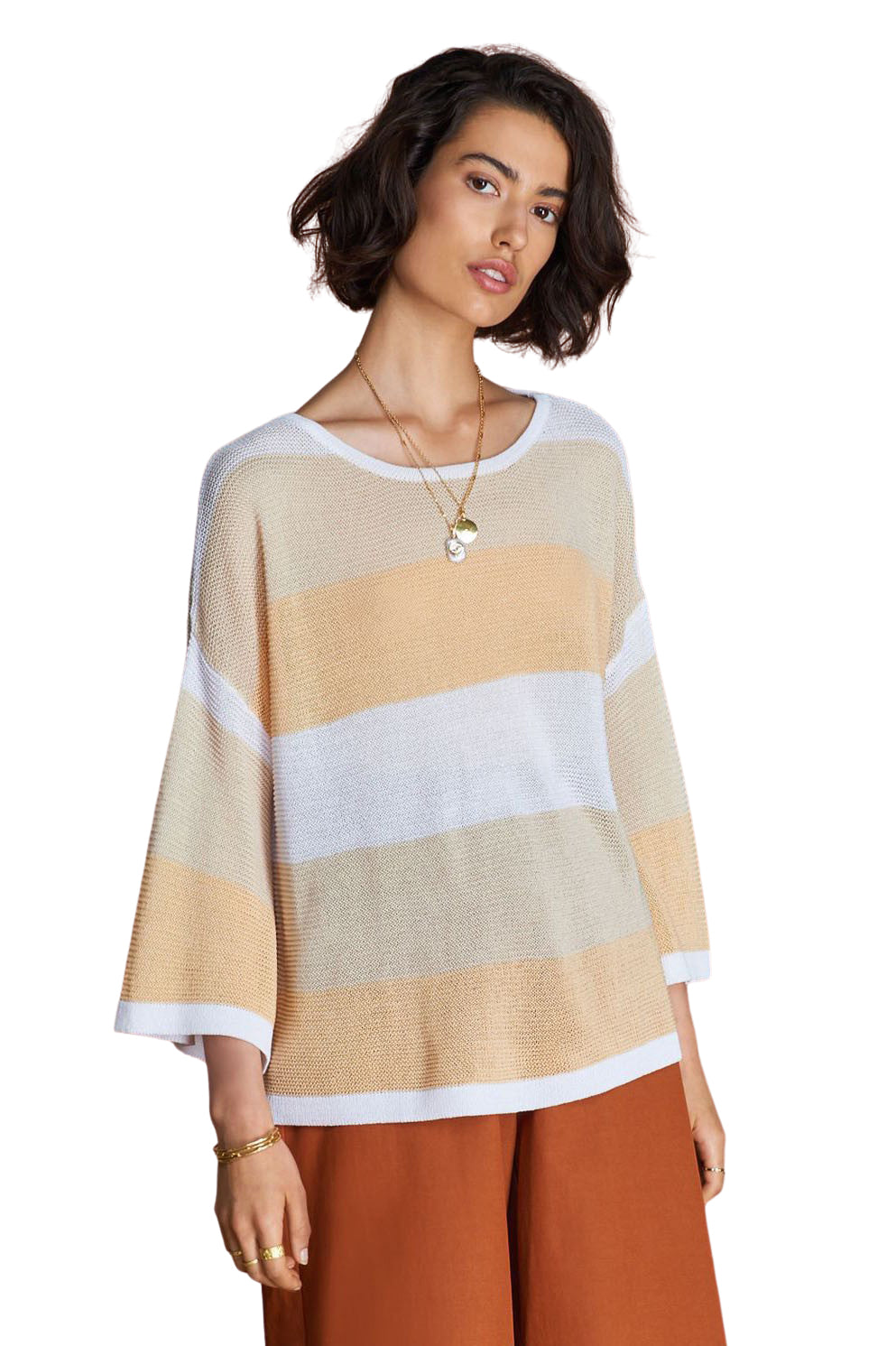Natural Audrey Knit - Front