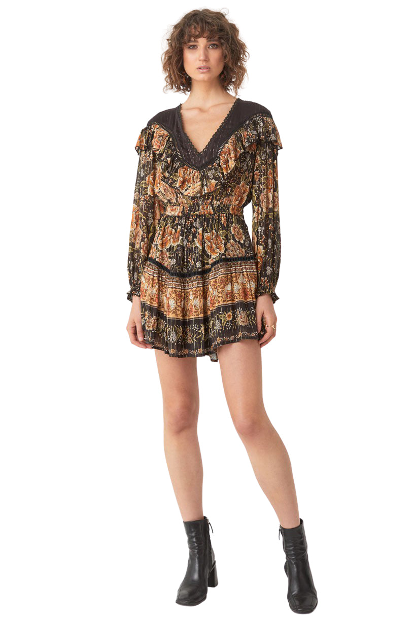Nightfall Mystic Mini Dress - Front