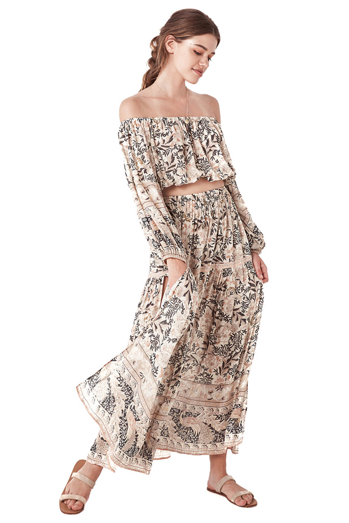 Pearl Oasis Maxi Skirt