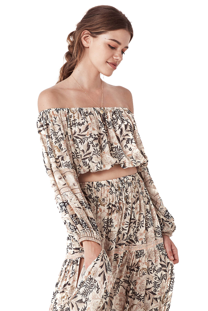 Pearl Oasis Off The Shoulder Top