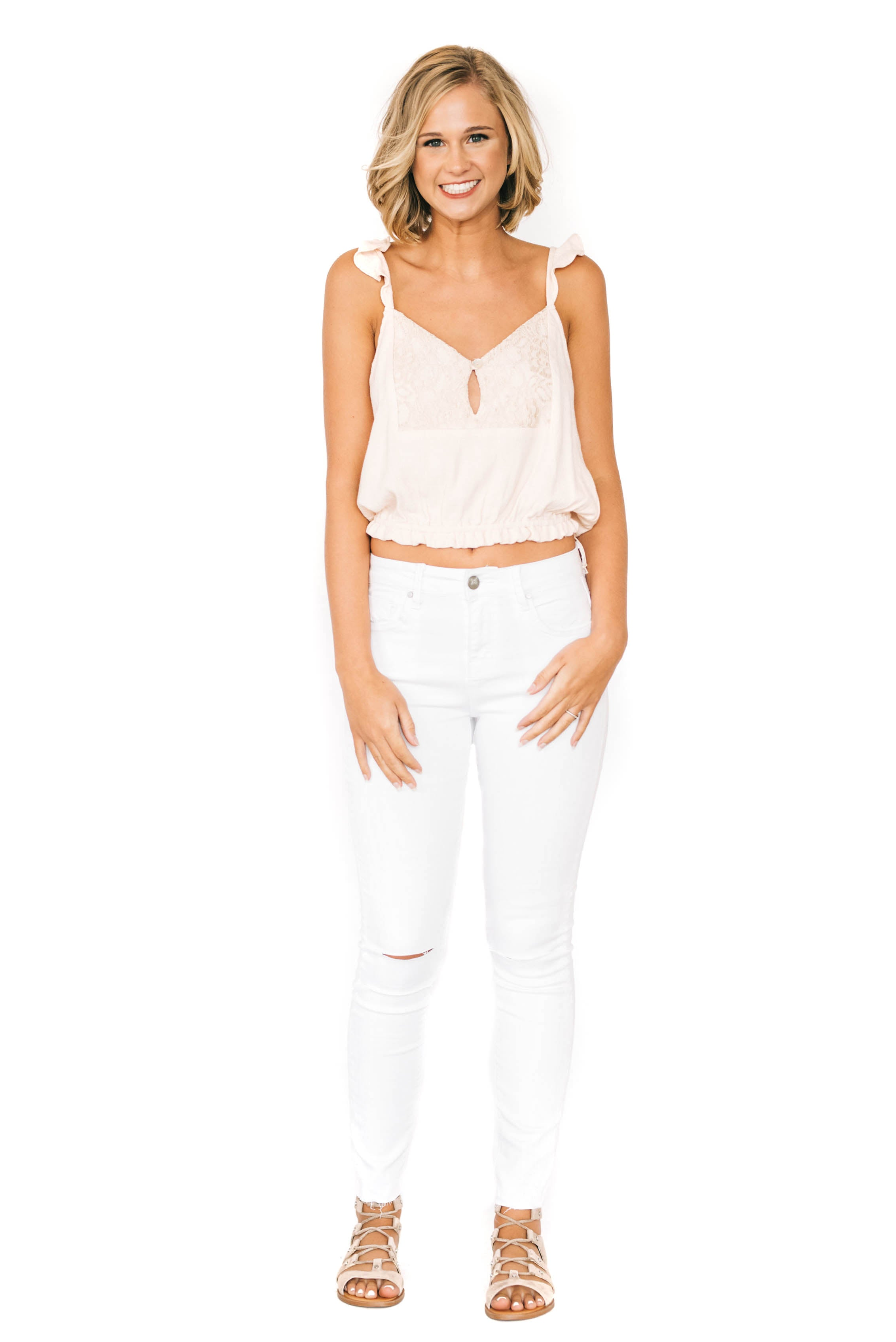 Olivia White Denim