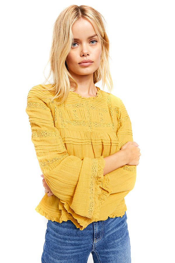 Golden Sands Olivia Blouse