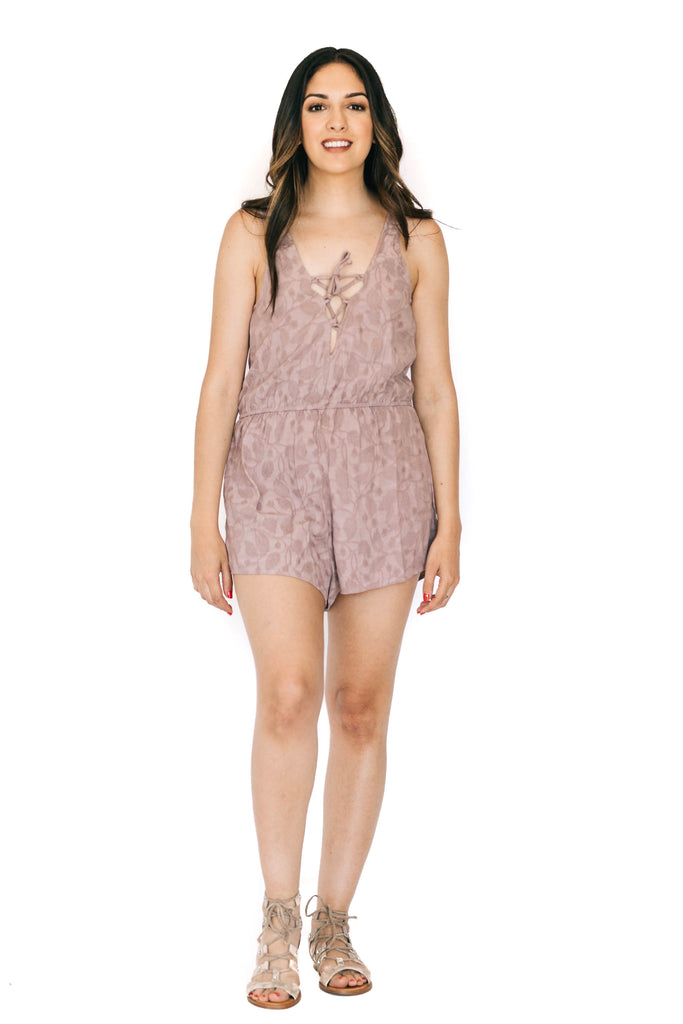 saltwater luxe orchid live it up romper