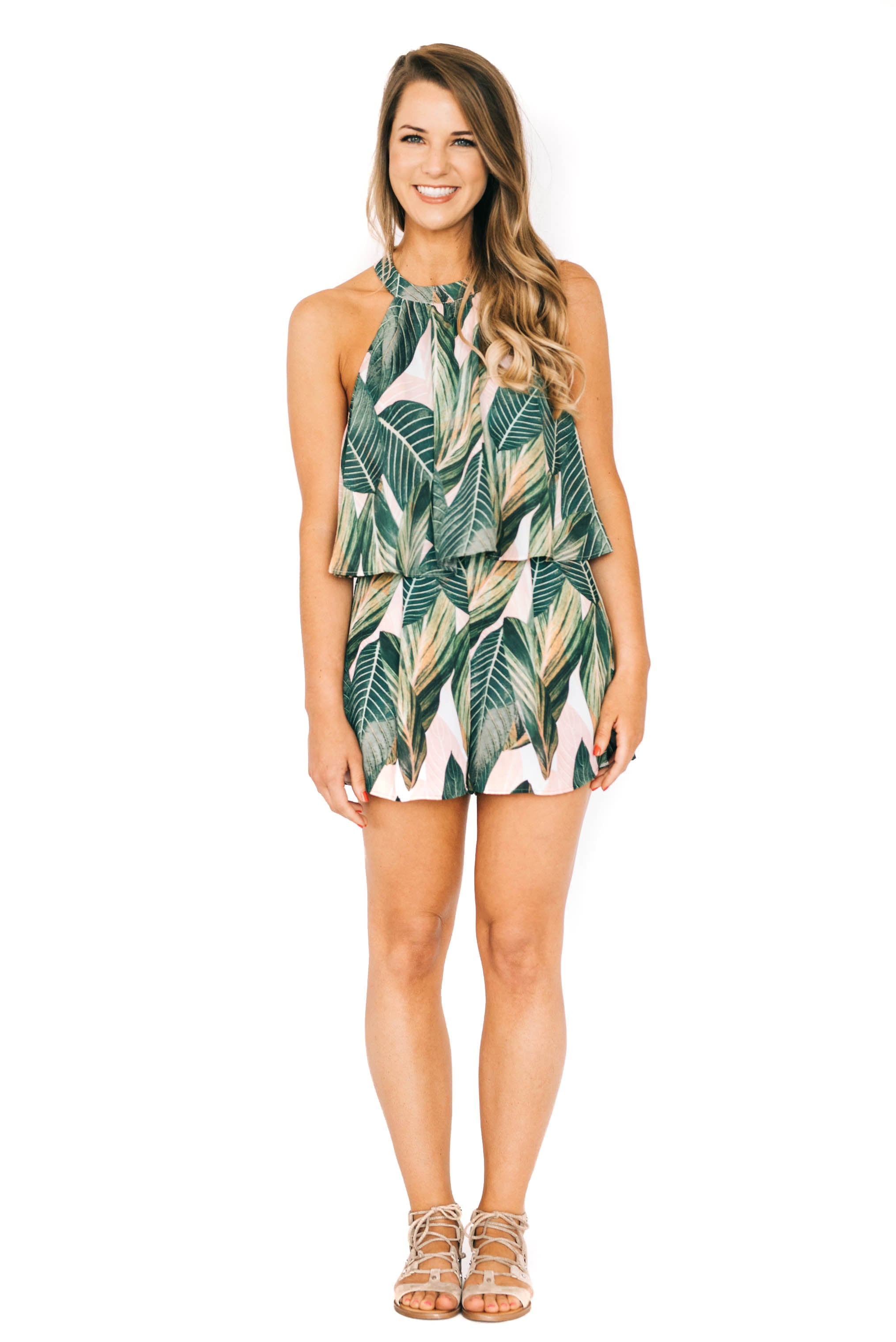 Peachy Palm Sawyer Short