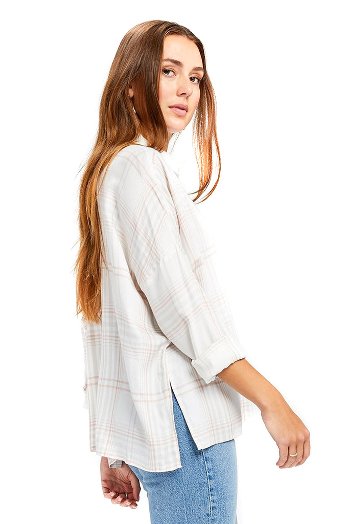 Plaid Nellie Top - Side